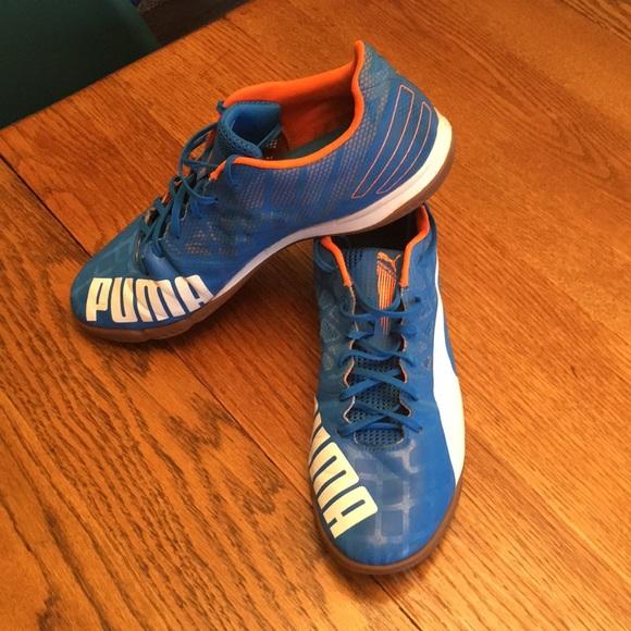 Puma EvoSpeed Indoor Soccer Shoes Size 12